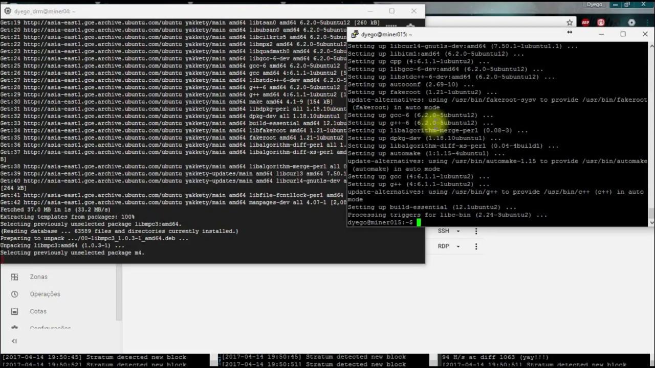 Como minerar bitcoins no ubuntu online cricket betting games