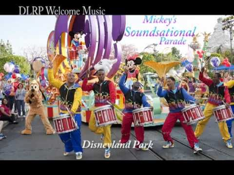Mickey's Soundsational Parade Music - Full version - YouTube