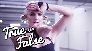 Ist ANNE-MARIE Karate WELTMEISTERIN? l True Or False