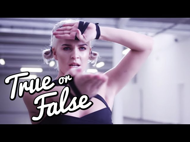 Ist ANNE-MARIE Karate WELTMEISTERIN? l True Or False