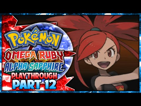Pokemon Omega Ruby & Alpha Sapphire Playthrough Part 12 - Gym Leader Flannery