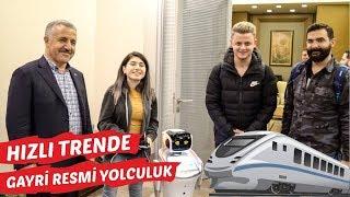 Hızlı Trende Gayriresmi Yolculuk! w/ Şeyda Erdoğan, Burak Güngör, Ekin Kollama