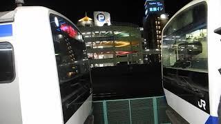 【車両連結】土浦駅_E531系電車_空車5両連結【常磐線】