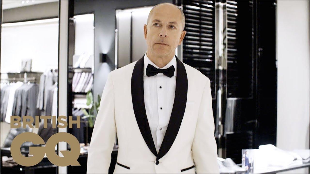 6ed1256c GQ Editor Dylan Jones on his White Tuxedo for GQ Men Of The Year 2017 |  British GQ