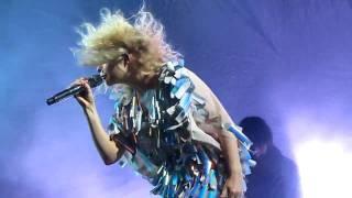 Goldfrapp - Shiny and Warm live at V Festival 2010