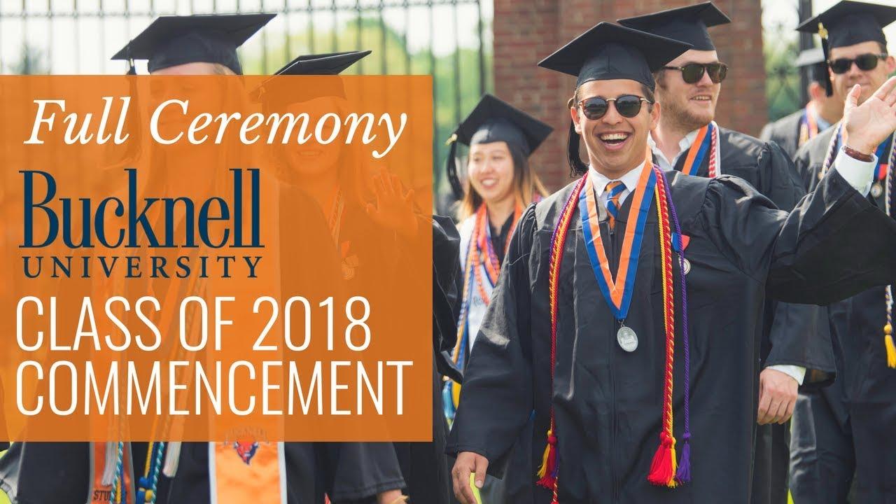 Bucknell Graduation 2020.All 2018 Graduates Must Watch Jim Cramer S Bucknell