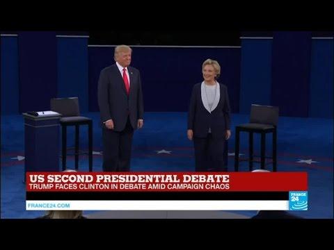 REPLAY - Watch the 2nd US presidential debate between Trump and Clinton