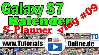 Samsung Galaxy s7 Kalender Funktionen komplett erklärt   S-Planner