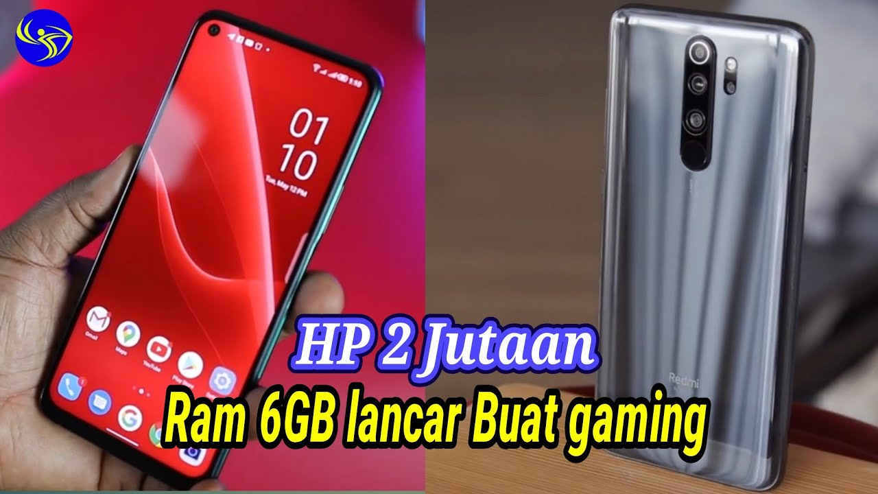 7 HP Gaming Ram 6GB Termurah Di tahun 2020~Banyak 2 Jutaan