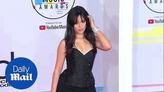Back in black! Camila Cabello commands attention at 2018 AMAs