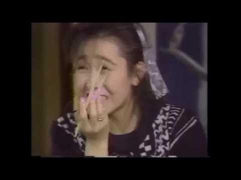 1987年 工藤静香 うしろ髪ひかれ隊 アイドル・ザ・レポーター