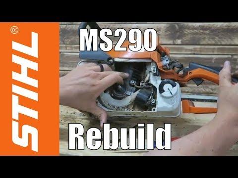 Stihl MS290 Rebuild: MS390 Conversion - Pt. 1