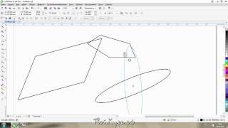 Видеоуроки CorelDraw с нуля. Урок 3. Базовые преобразования фигур(Базовые преобразования фигур. Это третий урок серии