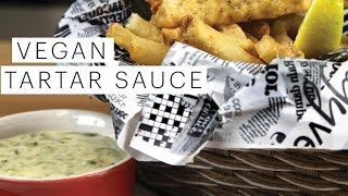 Vegan Recipe: Tartar Sauce | Edgy Veg