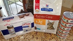 Cat Food Review - Hill's Prescription Diet k/d Kidney Care vs. Royal Canin Renal Support