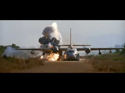 The Biggest and Best movie explosions: Air America (1990) Air Crash