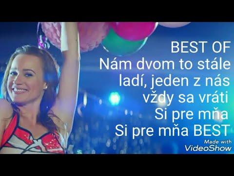 Kristína - Si pre mňa best (lyrics)