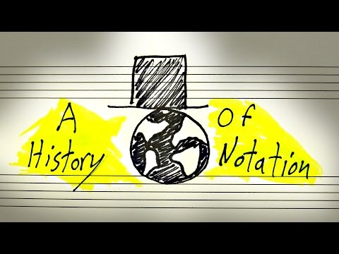 From Neumes To Notes: A Brief History Of Western Music Notation