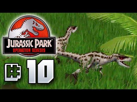 Raptor Pack - Jurassic Park Operation Genesis [ Jurassic Park Month ]