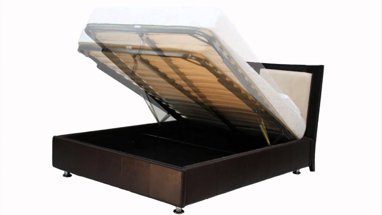 . balboa lift storage bed foundation  youtube