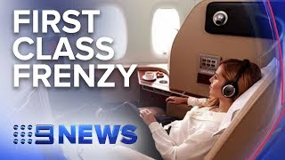 Gambar cover Qantas hides first class tickets on Airbnb | Nine News Australia