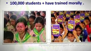 venerable Hak Sieng Hai can speak three languages in Myanmar