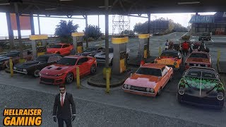 AN INSANE GTA 5 Muscle Car Show, Drag Battles, Highway Cruise, Stance Showcase And More