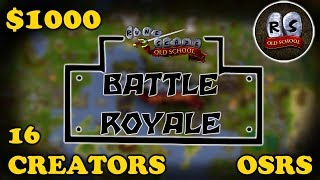 $1,000 OSRS BATTLE ROYALE ft. Framed, C Engineer, Soup, Tanzoo & Virtoso, LinksOcarina AND MORE