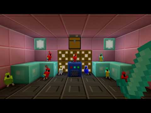 Good Natured Parrots Dancing )Minecraft Meme