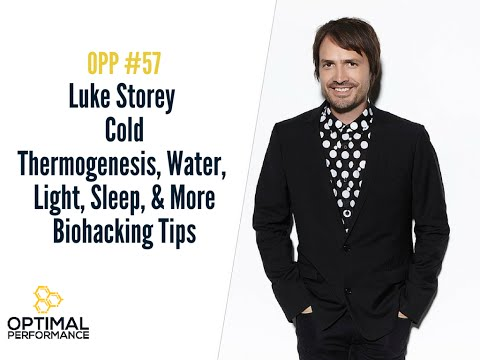 Biohacking Light, Water, Sleep and Cold Thermogenesis with Luke Storey