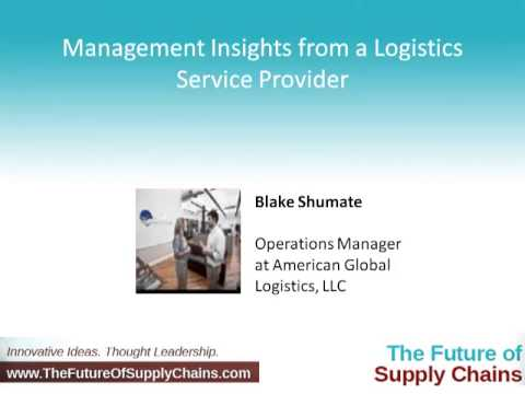 Management Insights from a Logistics Service Provider