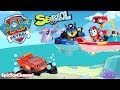PAW PATROL Nickelodeon Mission Paw Rescue Pups Save Paw Patrol Sea Patrol Toys and My Size Look Out