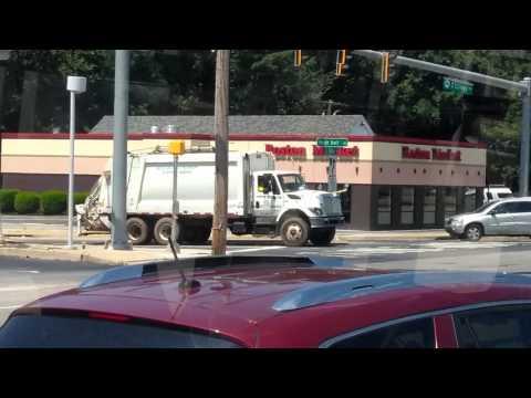 Newark Delaware garbage truck.