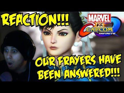 EXTREME MAKEOVER!!! Marvel vs. Capcom: Infinite - Full Story Trailer LIVE REACTION!!!/TALK!