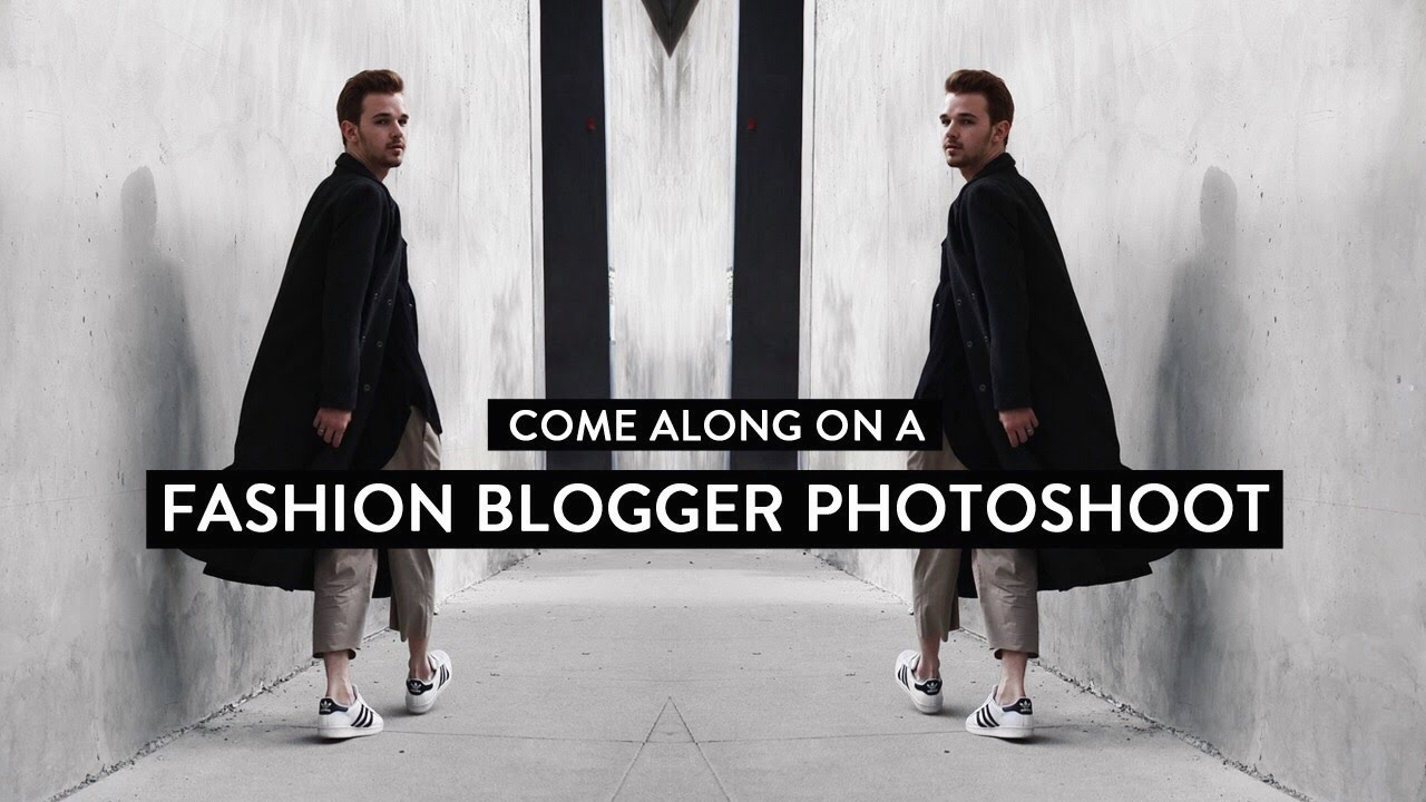 Come Along On A Fashion Blogger Photoshoot Youtube