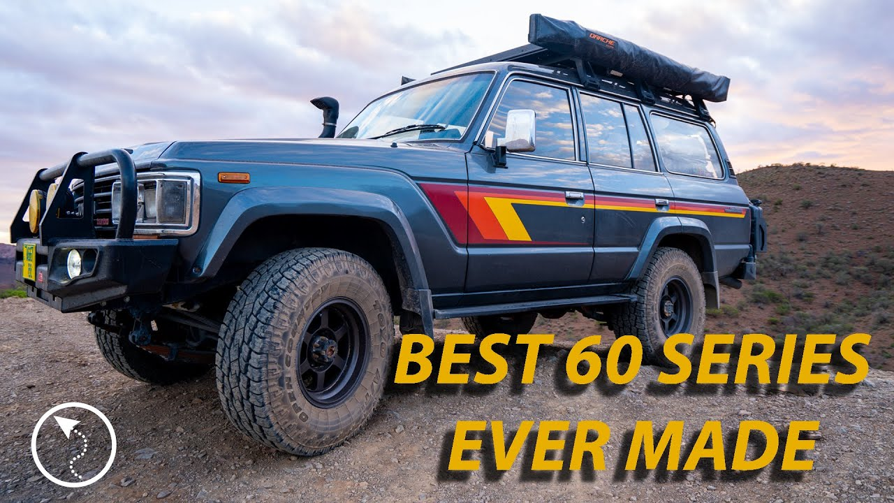Best 60 Series Ever Made - HJ61 Toyota Landcruiser Jap Import - TOUR RIG RUNDOWN - EP003