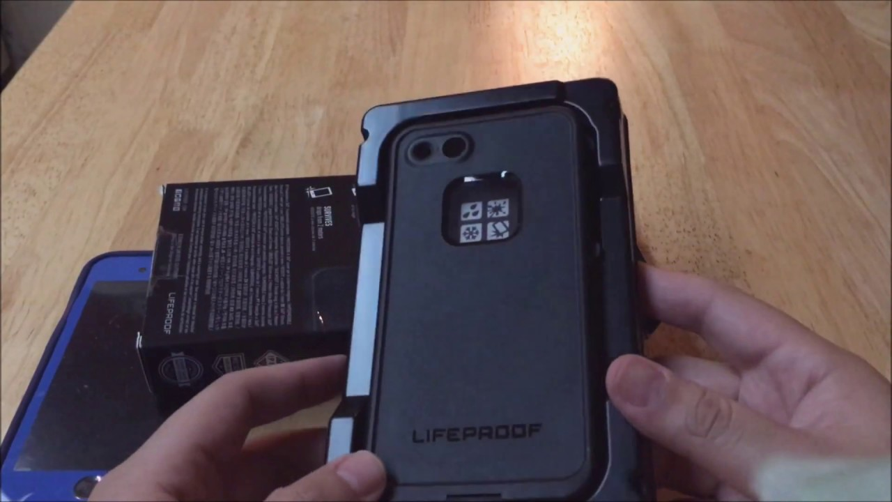 Unboxing iPhone 7 Lifeproof Case - YouTube 6fb1f5835d0c