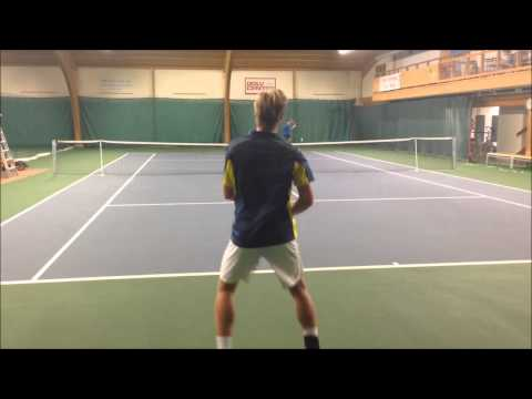 William Malm Tennis College Recruiting Video