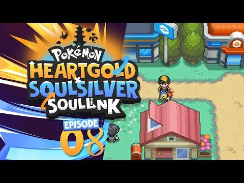 Pokemon Heart Gold Soul Silver Soul Link - EP 08 - Gotta love them technical difficulties....