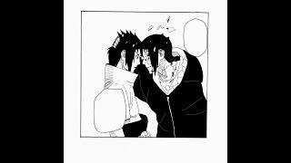 Naruto Manga Speedart - Drawing Sasuke & Itachi