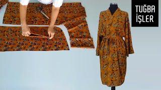 Çok Pratik Kimono Kesimi ve Dikimi   Tuğba İşler