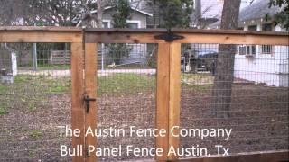Bull Panel Fence Austin, Tx 512-949-8943