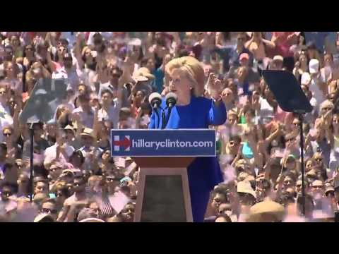 Hillary Clinton Delivers First 2016 Presidential Campaign Speech FULL