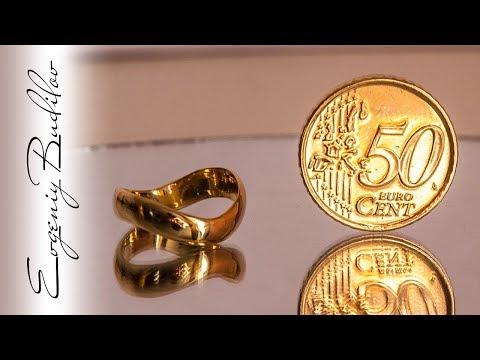 Смотреть Подарок из 50 центов   Кольцо из монеты онлайн
