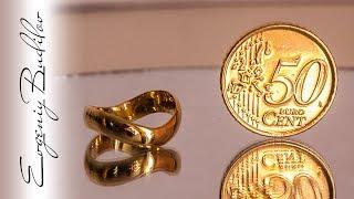 Подарок на 8 Марта за 50 центов | Кольцо из монеты