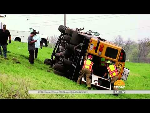 NBC Today Show - School Bus Crash