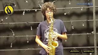 FISP21   Lourenço Reigado Portugal plays Petite Suite Latine by Jerome Naulais