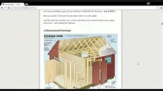 Build An Amazing Woodshed Easy.|woodshed Plans