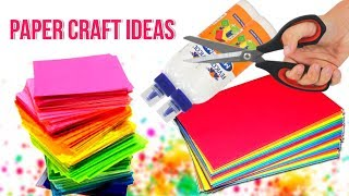 3 Awesome paper crafts ideas at home | Paper Crafts Anyone Can Make