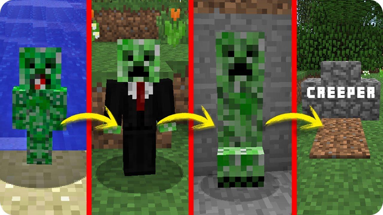 Creeper vs la vida en minecraft si el ciclo de vida - Minecraft zombie vs creeper ...